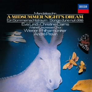 プレヴィン/メンデルスゾーン:劇音楽「真夏の夜の夢」