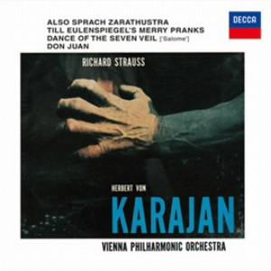 カラヤン/R.シュトラウス:交響詩「ツァラトゥストラはかく語りき」他