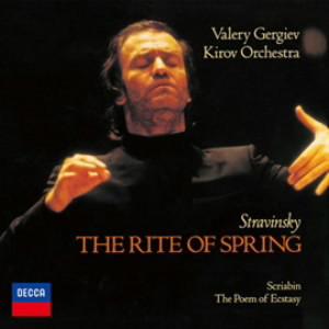 ゲルギエフ/ストラヴィンスキー:バレエ「春の祭典」/スクリャービン:交響曲第4番「法悦の詩」