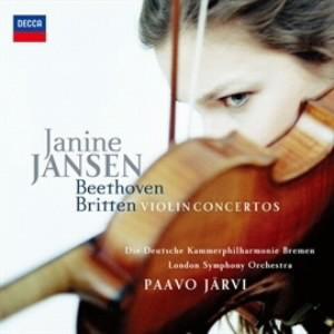ヤンセン/ベートーヴェン&ブリテン:ヴァイオリン協奏曲