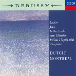 デュトワ/ドビュッシー:交響詩《海》、他