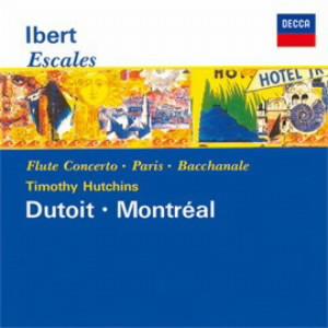 デュトワ/イベール:交響組曲《寄港地》、フルート協奏曲、他
