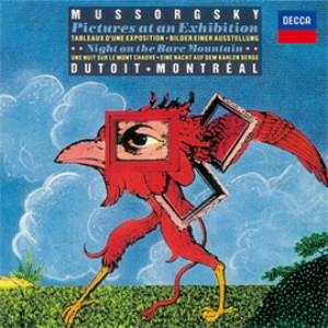 デュトワ/ムソルグスキー:組曲《展覧会の絵》、リムスキー=コルサコフ:《ロシアの復活祭》序曲、他