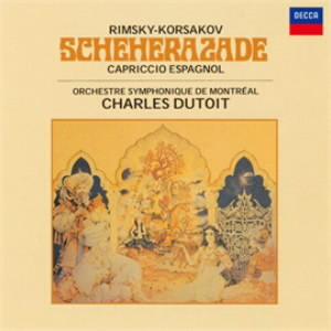デュトワ/R=コルサコフ:交響組曲「シェエラザード」、スペイン奇想曲