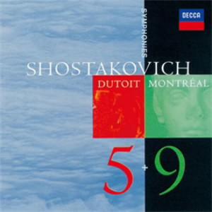 デュトワ/ショスタコーヴィチ:交響曲第5番&第9番
