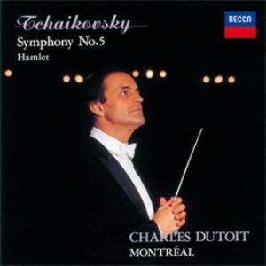 デュトワ/チャイコフスキー:交響曲第5番、幻想序曲「ハムレット」