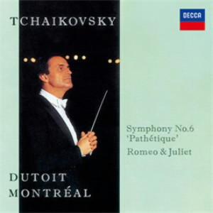 デュトワ/チャイコフスキー:交響曲第6番「悲愴」、幻想序曲「ロメオとジュリエット」