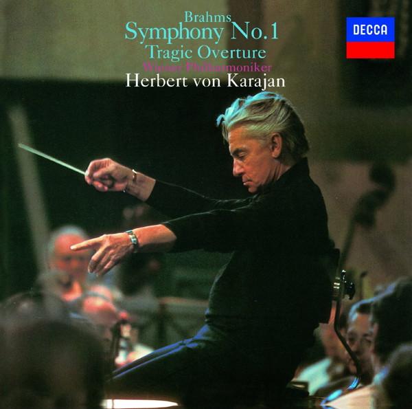 カラヤン/ブラームス:交響曲第1番、悲劇的序曲