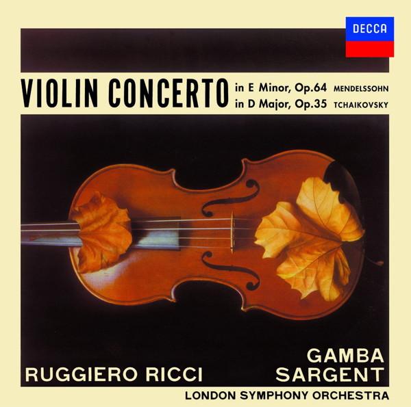 リッチ/チャイコフスキー:ヴァイオリン協奏曲集