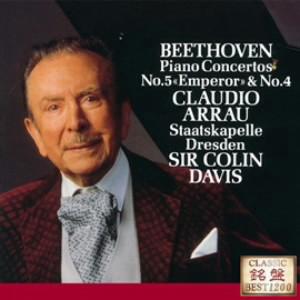アラウ/ベートーヴェン:ピアノ協奏曲第4番&第5番「皇帝」