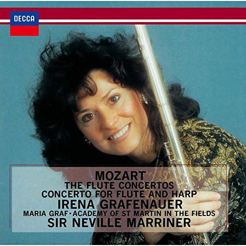 グラフェナウアー/モーツァルト:フルートとハープのための協奏曲、フルート協奏曲第1番&第2番、アンダンテ