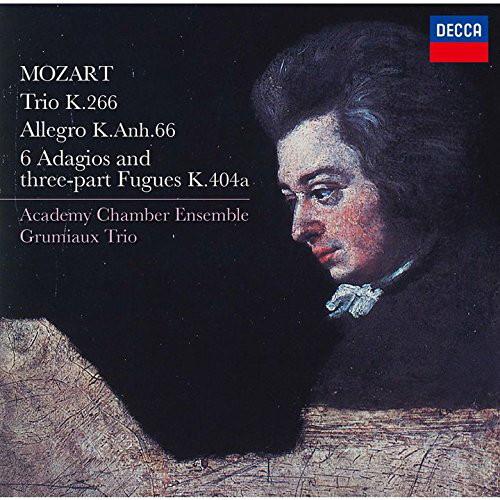 グリュミオー・トリオ/モーツァルト:三重奏曲、6つのアダージョとフーガ 他