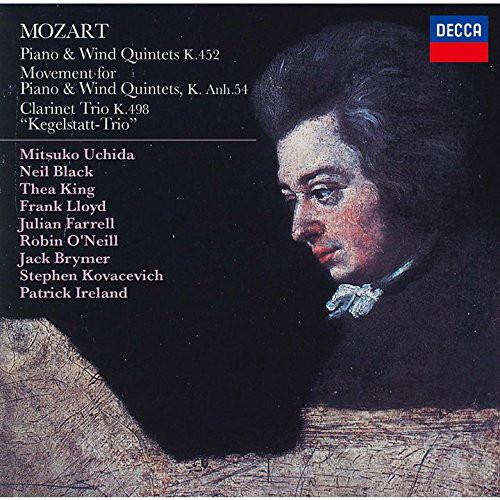 内田光子/モーツァルト:ピアノと管楽器のための五重奏曲&ケーゲルシュタット・トリオ