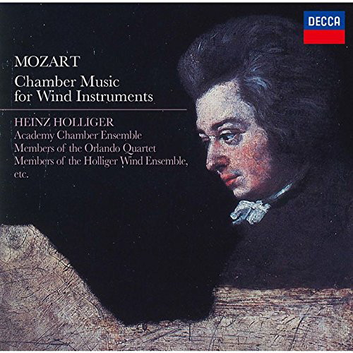 ホリガー/モーツァルト:管楽器のための室内楽曲集