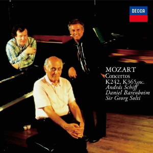 シフ/モーツァルト:3台のピアノための協奏曲(第7番)、2台のピアノための協奏曲(第10番) 他