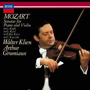 グリュミオー/モーツァルト:ヴァイオリン・ソナタ集Vol.1