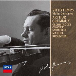 グリュミオー/ヴュータン:ヴァイオリン協奏曲第4番・第5番