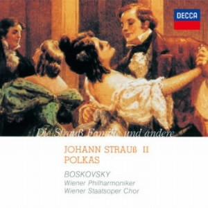 ボスコフスキー/J.シュトラウスII:ポルカ集