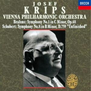 クリップス/ブラームス:交響曲第1番/シューベルト:交響曲第8番「未完成」