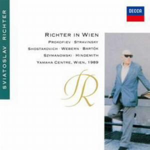 リヒテル/ウィーンのリヒテル〜20世紀ピアノ音楽の夕べ