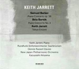 キース・ジャレット/バーバー:ピアノ協奏曲、バルトーク:ピアノ協奏曲 第3番 他