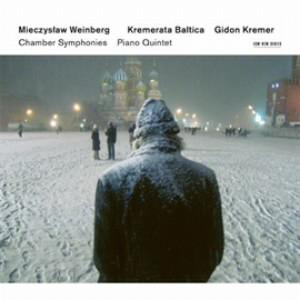 クレーメル/ヴァインベルク:室内交響曲第1番-第4番、ピアノ五重奏曲
