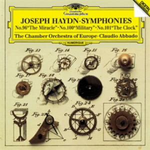 アバド/ハイドン:交響曲第96番「奇蹟」&第100番「軍隊」&第101番「時計」