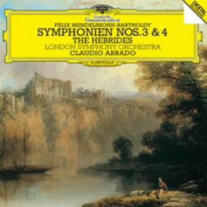 アバド/メンデルスゾーン:交響曲第3番「スコットランド」&第4番「イタリア」、序曲「フィンガルの洞窟」