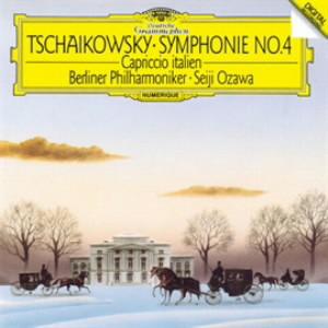 小澤征爾/チャイコフスキー:交響曲第4番、イタリア奇想曲