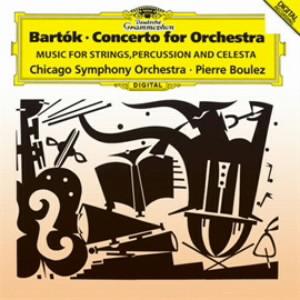 ブーレーズ/バルトーク:管弦楽のための協奏曲、弦楽器、打楽器とチェレスタのための音楽
