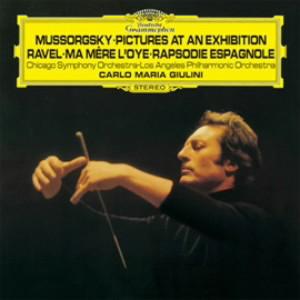 ジュリーニ/ムソルグスキー:組曲「展覧会の絵」(ラヴェル編)/ラヴェル:組曲「マ・メール・ロワ」、スペイン狂詩曲