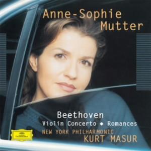 ムター/ベートーヴェン:ヴァイオリン協奏曲、ロマンス第1番&第2番