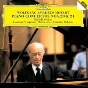 ゼルキン/モーツァルト:ピアノ協奏曲第20番&第21番