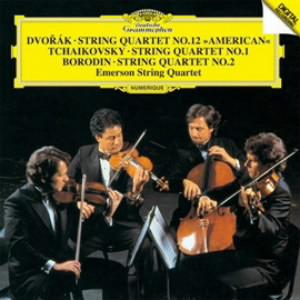 エマーソン弦楽四重奏団/ドヴォルザーク/チャイコフスキー/ボロディン:弦楽四重奏曲