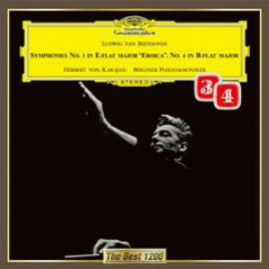 カラヤン/ベートーヴェン:交響曲第3番「英雄」&第4番