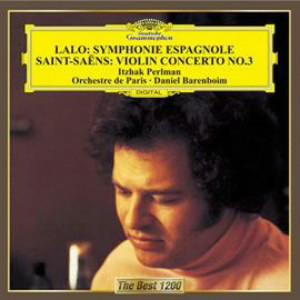 パールマン/ラロ:スペイン交響曲、サン=サーンス:ヴァイオリン協奏曲第3番