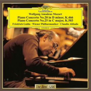 グルダ/モーツァルト:ピアノ協奏曲第20番&第25番