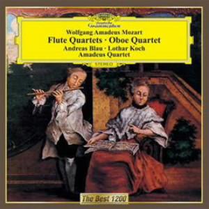 アマデウス弦楽四重奏団/モーツァルト:フルート四重奏曲&オーボエ四重奏曲