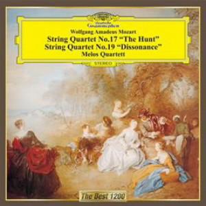 メロス弦楽四重奏団/モーツァルト:弦楽四重奏曲第17番「狩り」&第19番「不協和音」