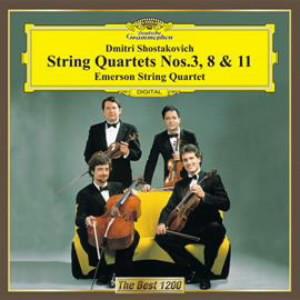 エマーソン弦楽四重奏団/ショスタコーヴィチ:弦楽四重奏第3番&第8番&第11番