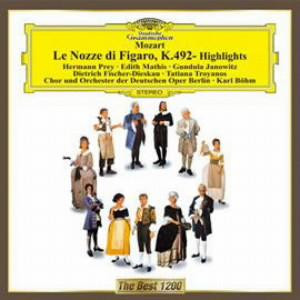 ベーム/モーツァルト:歌劇「フィガロの結婚」ハイライト