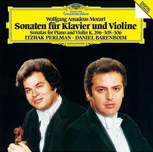 パールマン/モーツァルト:ヴァイオリン・ソナタ第24番&第29番&第30番
