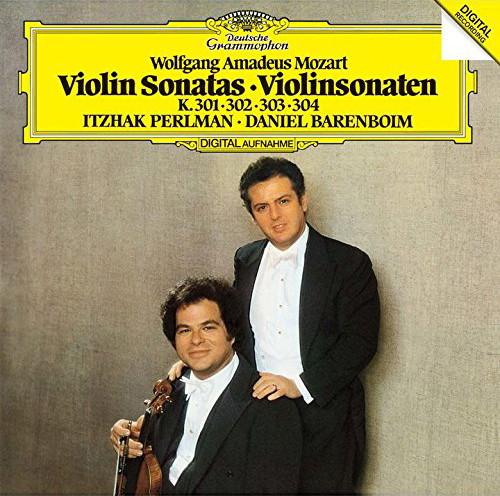 パールマン/モーツァルト:ヴァイオリン・ソナタ第25番-第28番