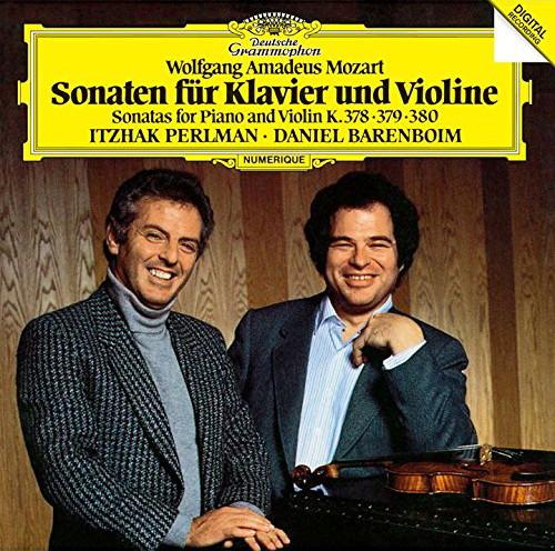 パールマン/モーツァルト:ヴァイオリン・ソナタ第34番-第36番