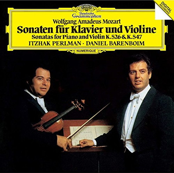 パールマン/モーツァルト:ヴァイオリン・ソナタ第42番&第43番