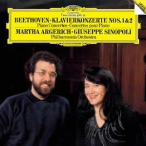 アルゲリッチ/ベートーヴェン:ピアノ協奏曲第1番&第2番