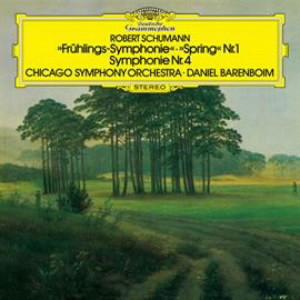 バレンボイム/シューマン:交響曲第1番「春」、第4番