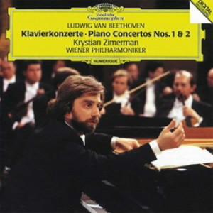 ツィメルマン/ベートーヴェン:ピアノ協奏曲第1番&第2番