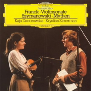 ツィメルマン/フランク:ヴァイオリン・ソナタ/シマノフスキ:神話、他