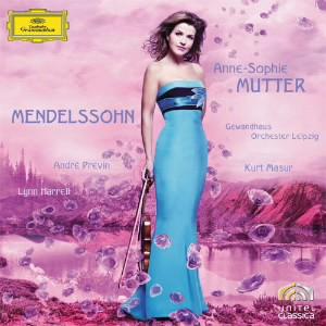 ムター/メンデルスゾーン:ヴァイオリン協奏曲ホ短調、他
